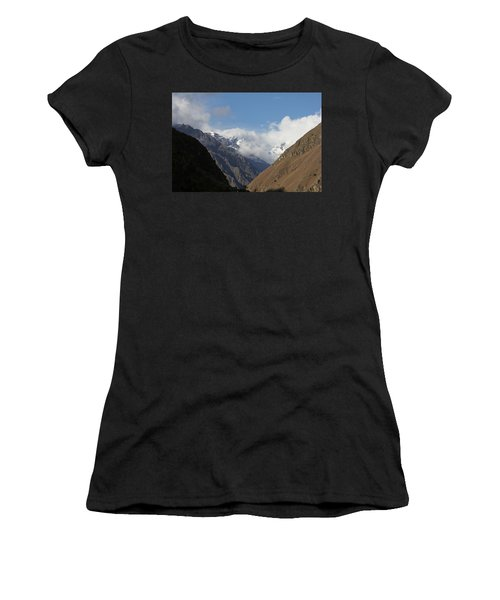 Layers Of Mountains Women's T-Shirt (Athletic Fit)