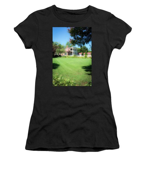 Women's T-Shirt (Athletic Fit) featuring the photograph Lazy Summer Day - The Hermitage by James L Bartlett
