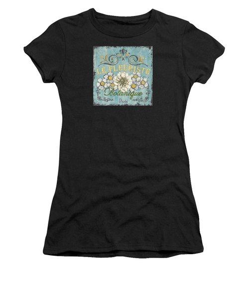 Le Fleuriste De Botanique Women's T-Shirt (Athletic Fit)