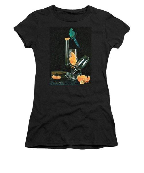 Le Perroquet Vert Women's T-Shirt (Athletic Fit)