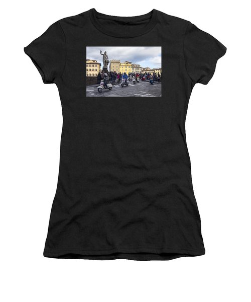 Vespe Di Firenze Women's T-Shirt (Athletic Fit)