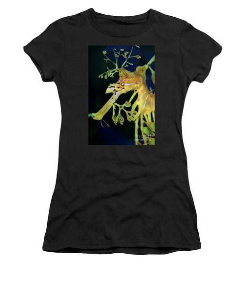 Leafy Sea Dragon Women's T-Shirt (Junior Cut) by Mariola Bitner
