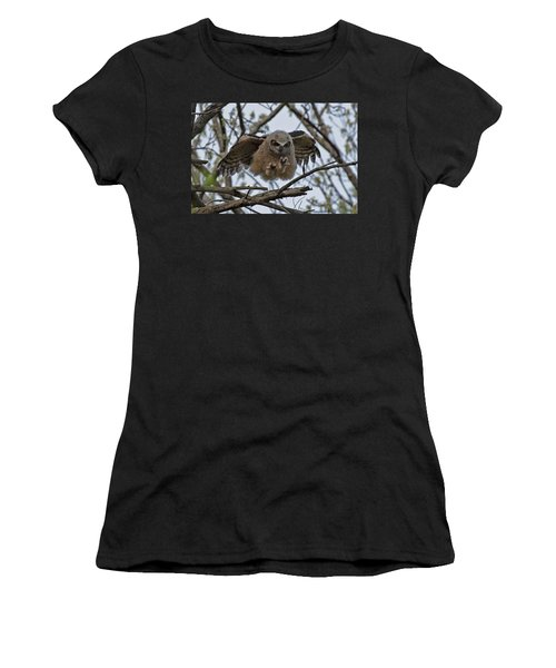 Leap Of Faith Women's T-Shirt (Athletic Fit)