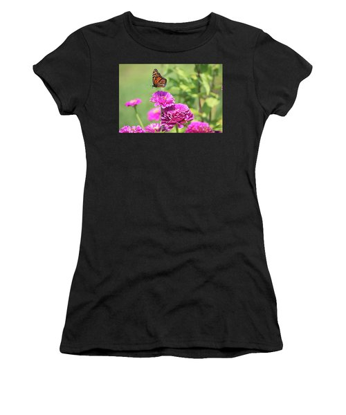 Leaping Butterfly Women's T-Shirt