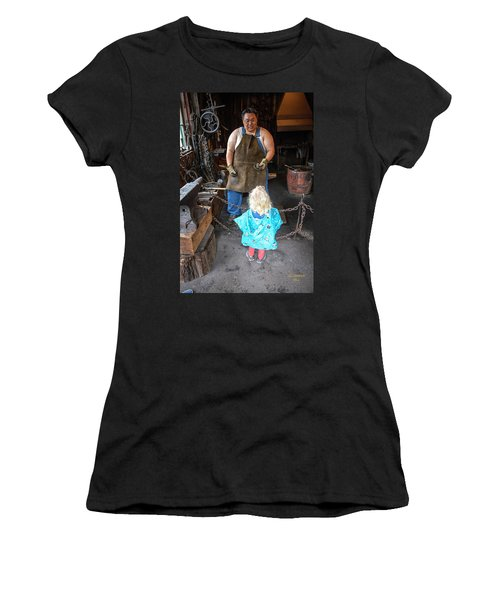 Learning About Metal Women's T-Shirt (Athletic Fit)