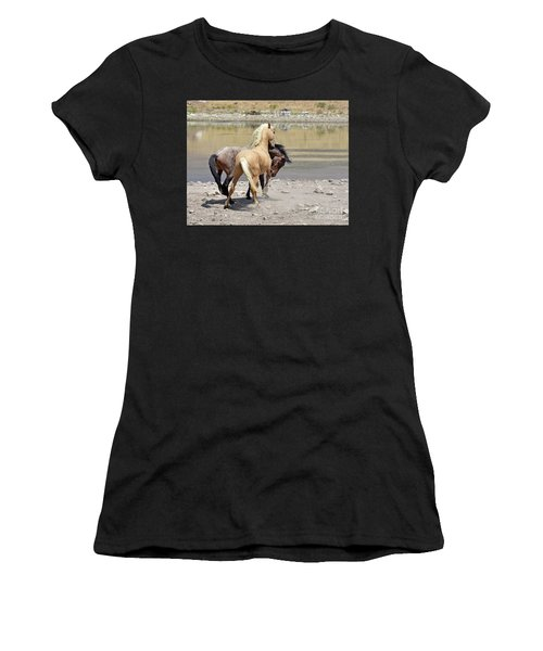 Learning To Fight Women's T-Shirt (Athletic Fit)