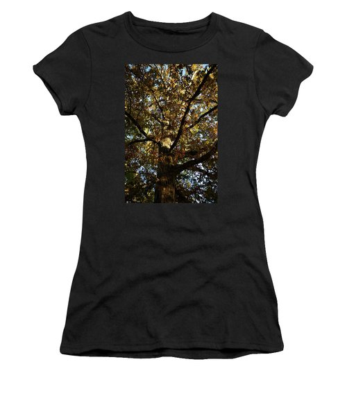 Leaves And Branches Women's T-Shirt (Athletic Fit)