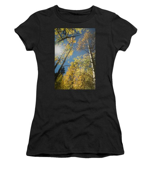 Leaves Of Fall Women's T-Shirt (Athletic Fit)