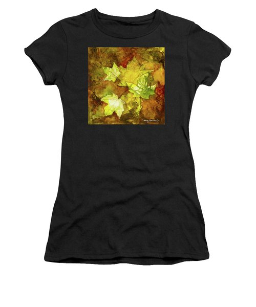 Leaves Women's T-Shirt (Athletic Fit)