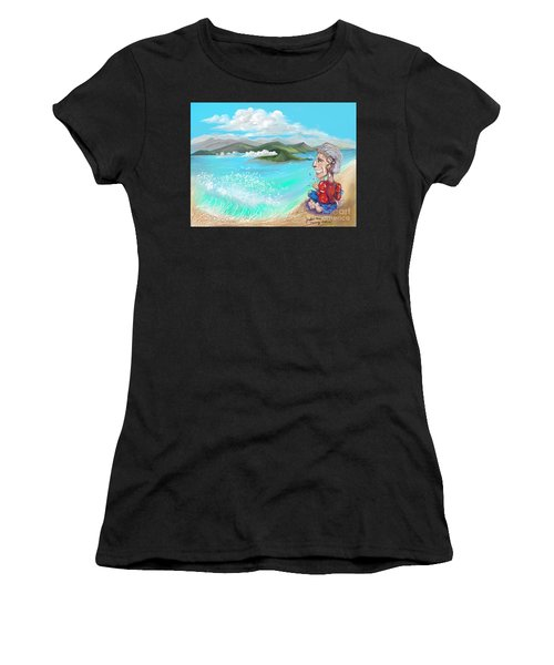 Leaving The Dream Women's T-Shirt (Athletic Fit)