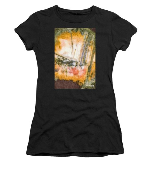 Leaving The Woods Women's T-Shirt (Athletic Fit)