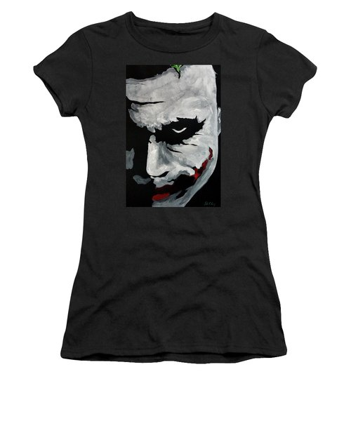 Ledger's Joker Women's T-Shirt