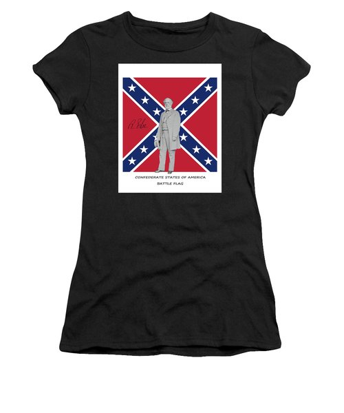 Lee Battleflag Women's T-Shirt