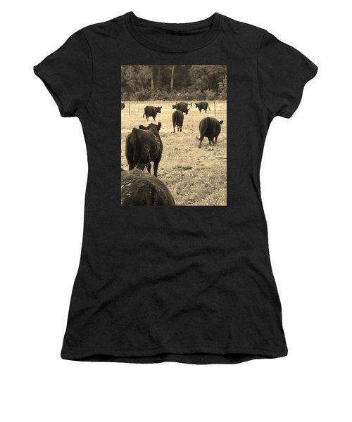 Left Behind,la. Women's T-Shirt