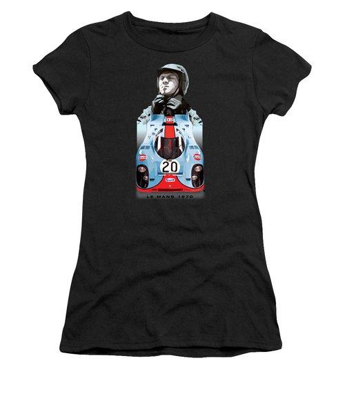 Lemans Racing Women's T-Shirt (Athletic Fit)