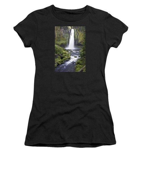 Lemolo Falls Women's T-Shirt (Athletic Fit)
