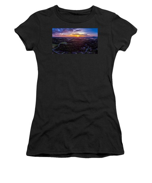 Lenoir North Carolina  Sunset Women's T-Shirt