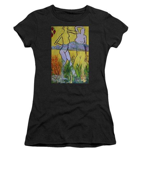 Les Nymphs D'aureille Women's T-Shirt (Athletic Fit)
