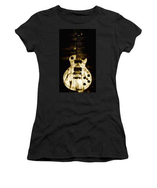 Les Paul Guitar Women's T-Shirt