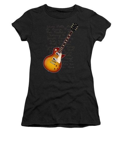 Les Paul Songs T-shirt Women's T-Shirt (Athletic Fit)