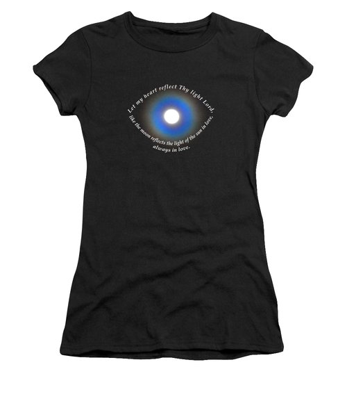 Let My Heart Reflect Thy Light 1 Women's T-Shirt (Athletic Fit)