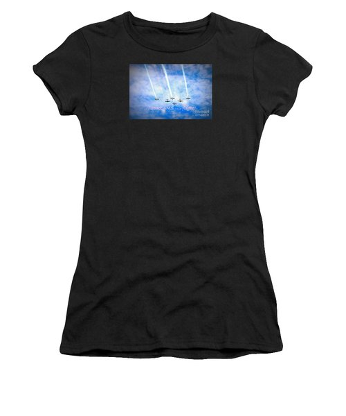 Let Your Dreams Take Flight Women's T-Shirt (Athletic Fit)