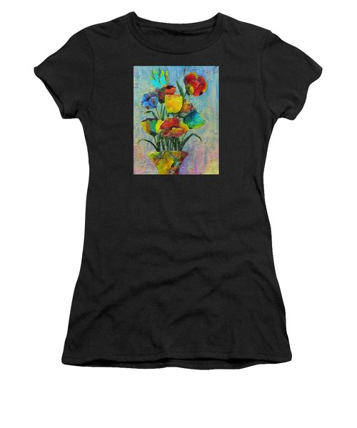 Let Your Individualism Stand Out Women's T-Shirt (Athletic Fit)
