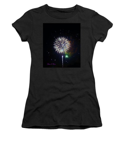 Women's T-Shirt (Junior Cut) featuring the photograph Lets Celebrate by Shana Rowe Jackson