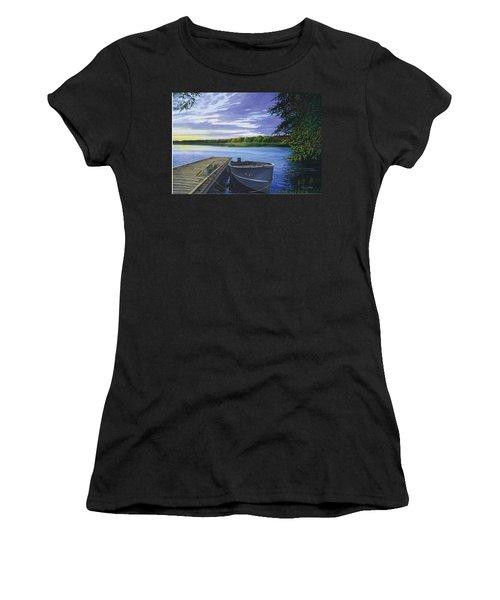 Let's Go Fishing Women's T-Shirt