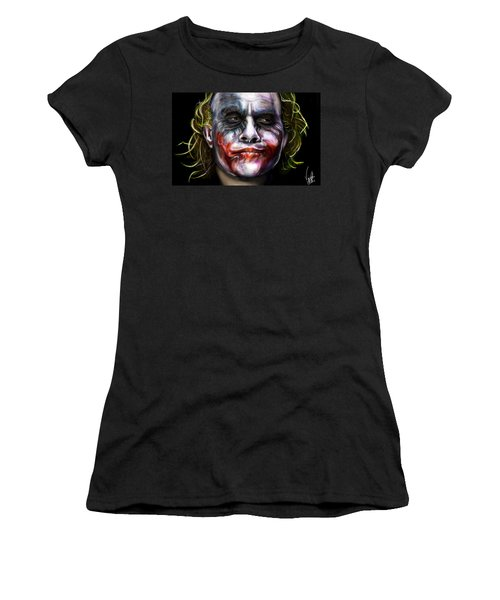 Let's Put A Smile On That Face Women's T-Shirt (Athletic Fit)