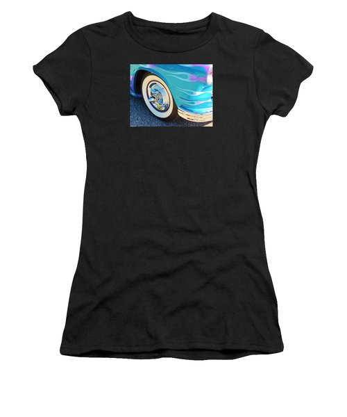 Let's Roll Women's T-Shirt (Athletic Fit)