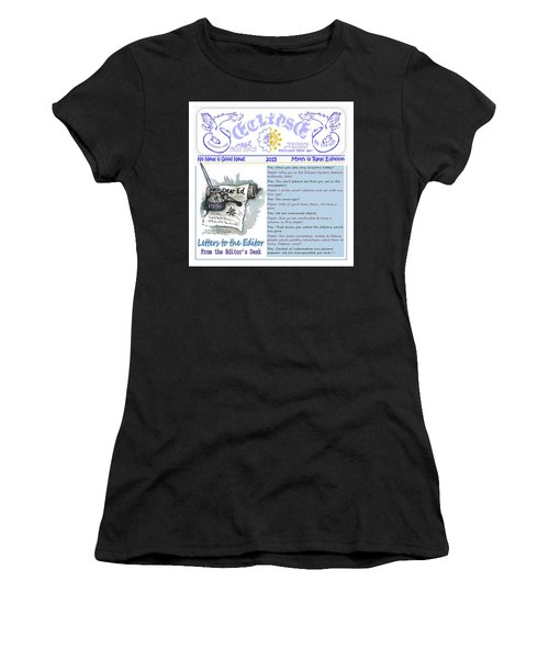 Real Fake News Letters To The Editor Women's T-Shirt