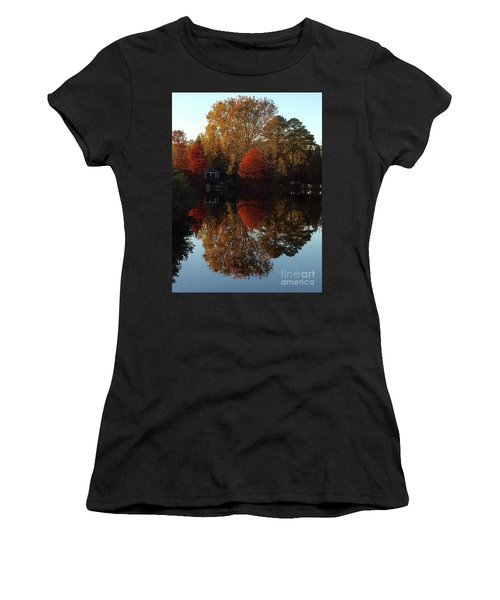 Lewis Ginter Fall Foliage Women's T-Shirt (Athletic Fit)