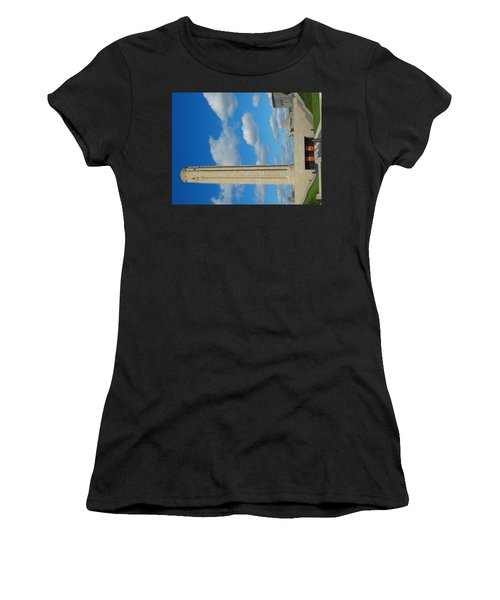 Liberty Memorial On A Perfect Day Women's T-Shirt (Athletic Fit)