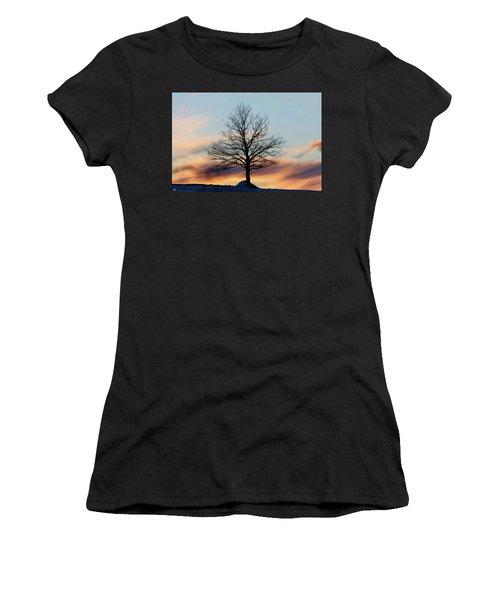 Liberty Tree Sunset Women's T-Shirt