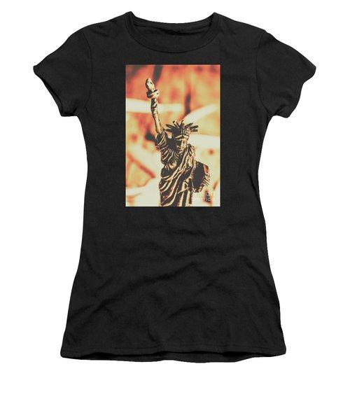 Liberty Will Enlighten The World Women's T-Shirt