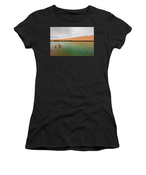 Libyan Oasis Women's T-Shirt (Athletic Fit)