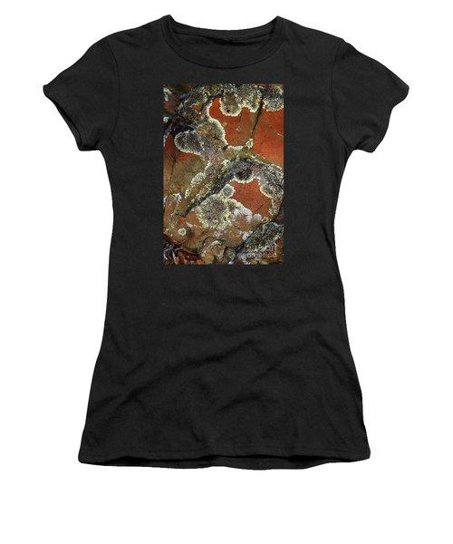 Lichen Abstract Women's T-Shirt