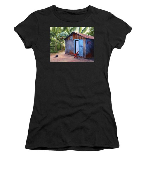Life In Haiti Women's T-Shirt (Athletic Fit)