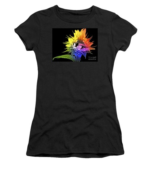 Life Is Like A Rainbow ... Women's T-Shirt (Athletic Fit)