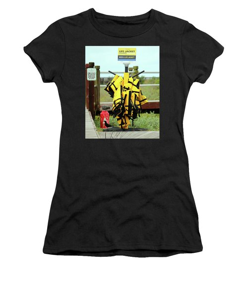 Life Jacket Station Women's T-Shirt