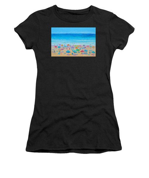 Life On The Beach Women's T-Shirt (Athletic Fit)