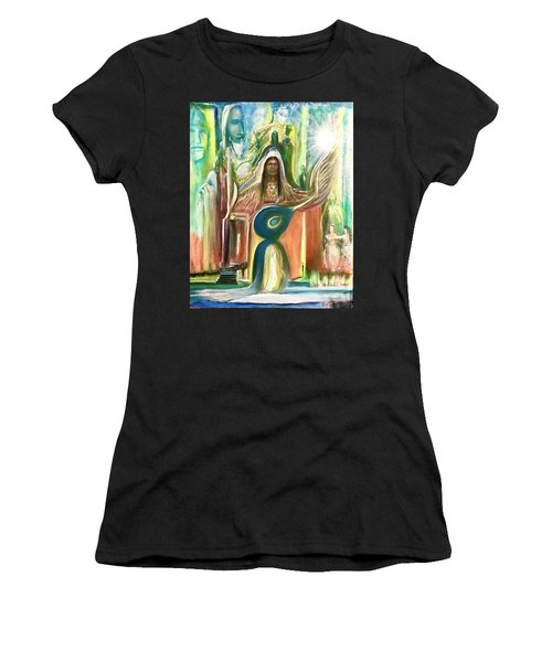 Light And The Awakening  Women's T-Shirt (Athletic Fit)