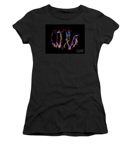 Light Grafitti Women's T-Shirt