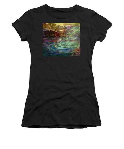 Light In Water Women's T-Shirt (Athletic Fit)