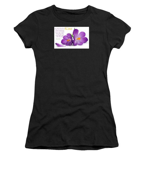 Light My Lips Women's T-Shirt (Athletic Fit)