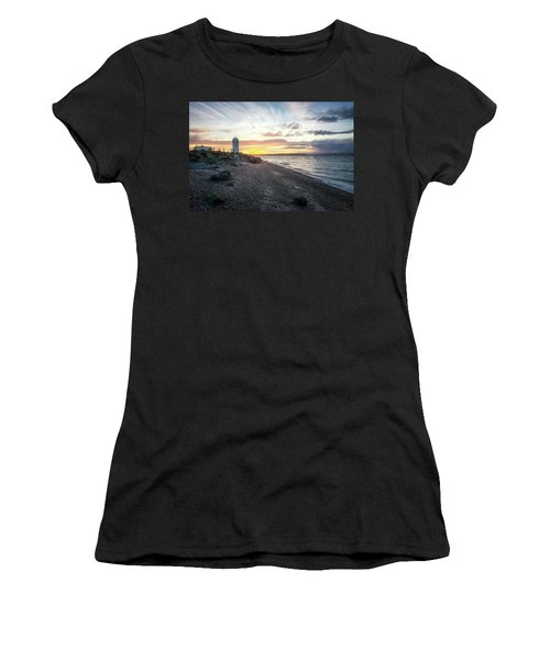 Light On Puget Sound Women's T-Shirt (Athletic Fit)