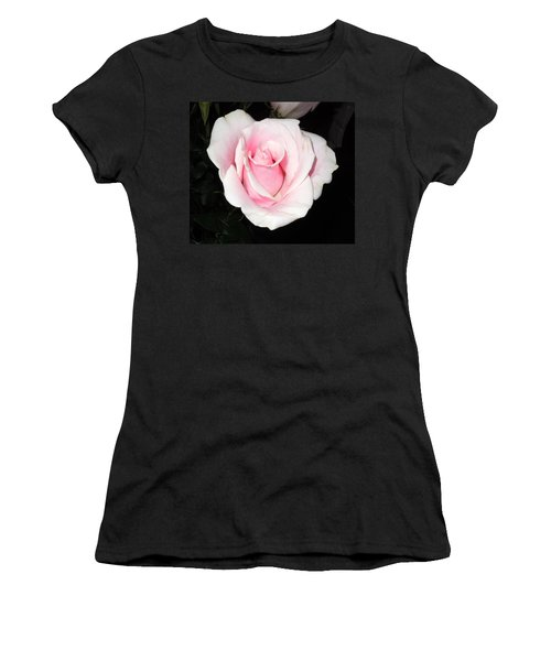 Light Pink Rose Women's T-Shirt