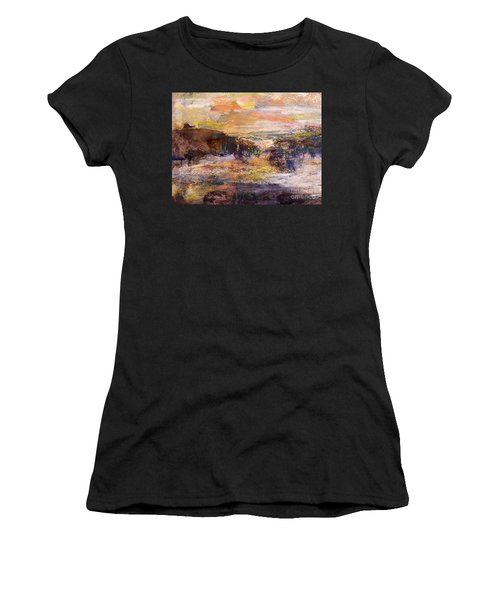 Light Show At Dawn Women's T-Shirt (Athletic Fit)