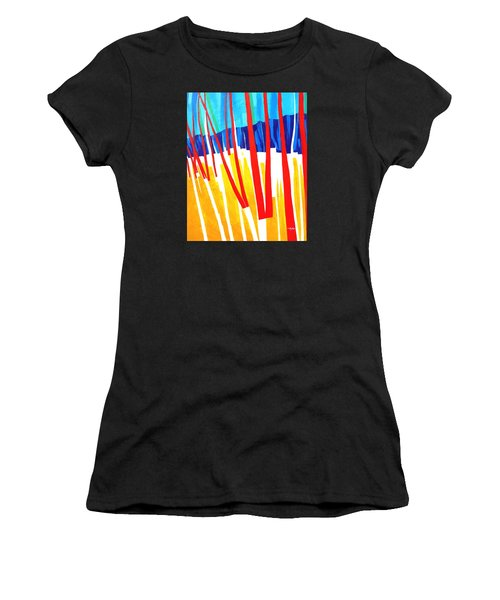 Light Through The Trees Women's T-Shirt (Athletic Fit)